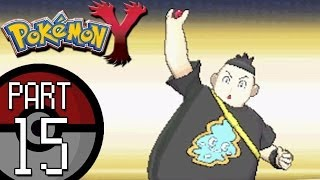 Pokemon X And Y Part 15: Route 5 Battling Tierno And