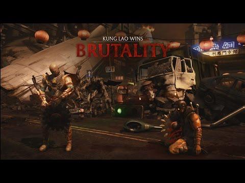 Mortal Kombat X: Kung Lao - Klassic Toss (Buzz Saw Variation) Brutality