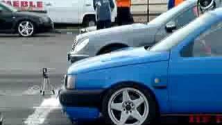 Zlot Śniatow ( WAKACJE 2007 ) Mercedes CK 320 vs. Fiat Tipo