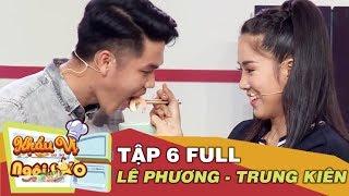 Khẩu vị ngôi sao   Tập 6   Lê Phương bật mí khẩu vị ăn uống trước khi đám cưới lần 2 với Trung Kiên
