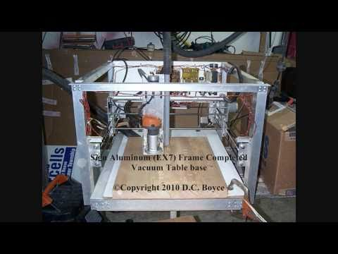 Homemade CNC Router Machine Build-First Generation Stepper Controller Interface PCB