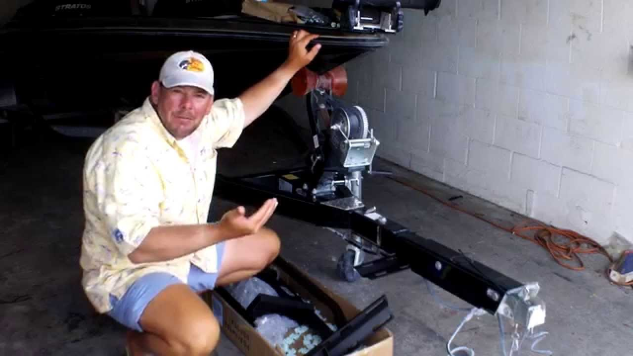 How To Install The Easy Step System On Bass Boat Trailer Steps