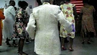 No Joke! 103-year Old Grandma Does The Electric Slide