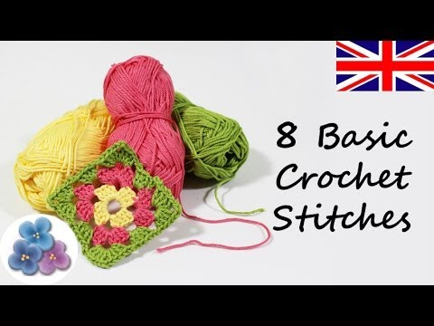 Basic Crochet Stitches Youtube : ... Stitches DIY Knitting Different Crochet Stitches Mathie - YouTube