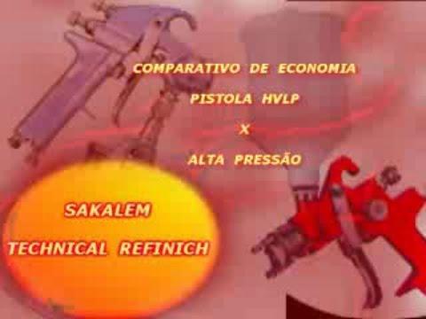 CURSO PISTOLA  HVLP  X  ALTA  PRESSÃO