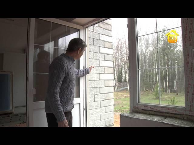 Новая технология деревянного домостроения Вертикальный брус DVDRip обучающее видео