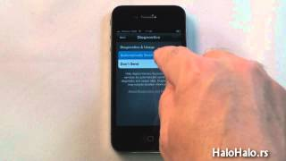 Kako aktivirati iPhone 4