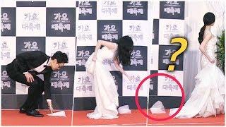 소녀시대(SNSD) 서현(Seohyun) 드레스가 그만... (feat.귀요미 유라) - 2014.12.26