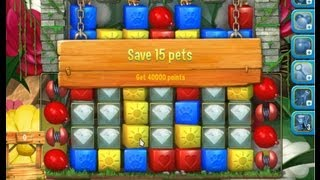 Pet Rescue Saga Level 178 15 Pets With Springs And