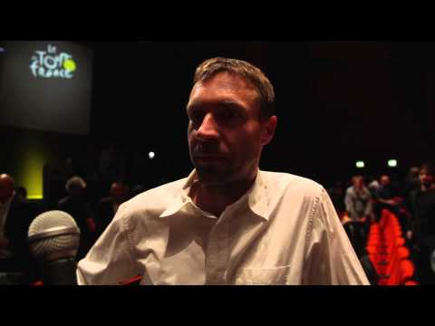 Jens Voigt on the 2014 Tour de France route
