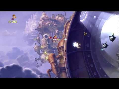 Rayman Origins Playthrough Part 51 | The Reveal , The Chase, Credits