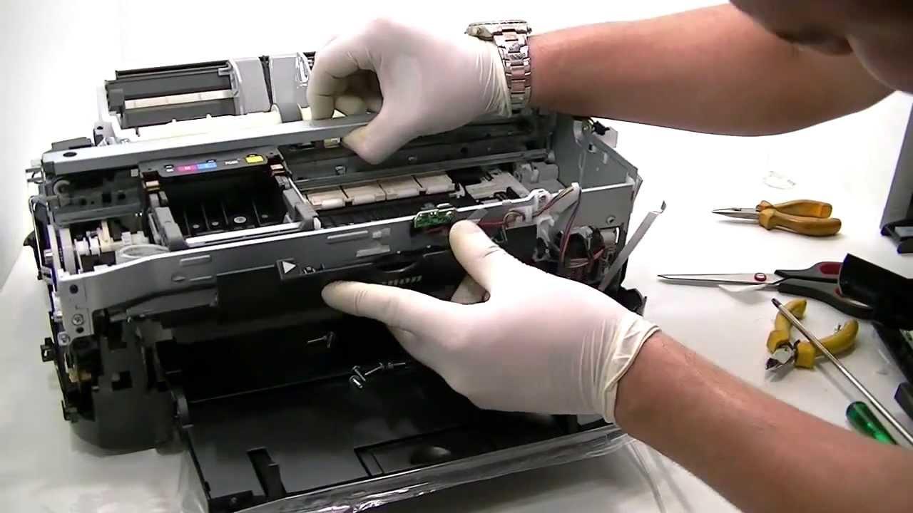 Ремонт принтера i 250 своими руками