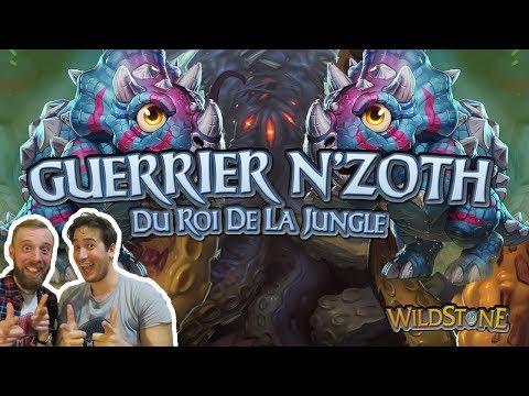 LE DECK GUERRIER DU ROI DE LA JUNGLE [Wild] [Fr] [Hearthstone]