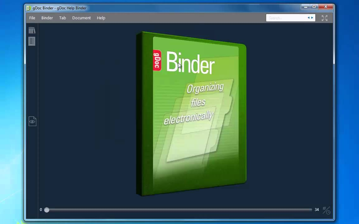 gdoc binder - what is it