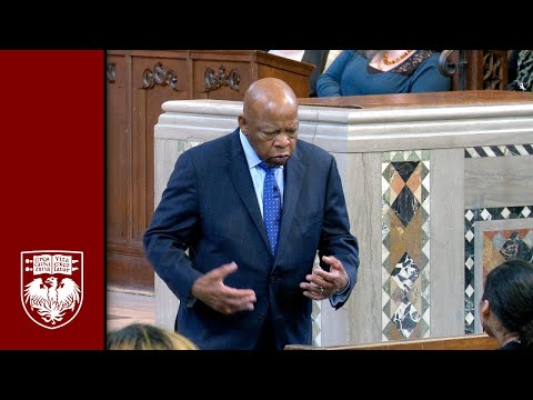 A Morning with Rep. John Lewis and Andrew Aydin
