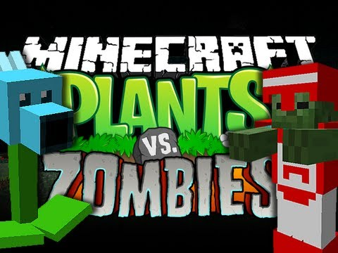 Minecraft Mod - Plants vs Zombies 2 Mod - New Mobs and Items!!