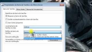 Como Deixar Sua Barra De Tarefas Igual A Do Windows XP