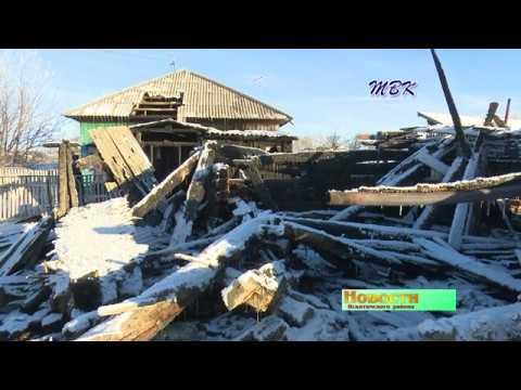 Герои среди нас. Житель с. Новолокти спас пенсионерку из горящего дома