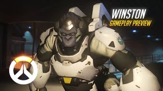 Overwatch: Winston Gameplay Preview