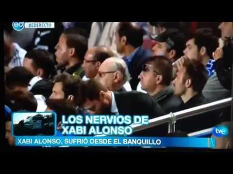 Los nervios de Xabi Alonso