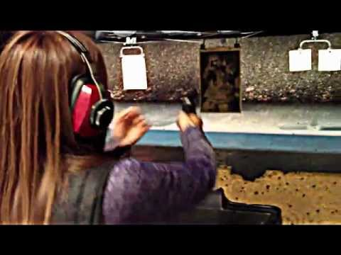 Denise at the range