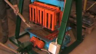 Concrete Block Making Machine BLOX-3 DIY (Do It Yourself