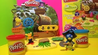 Play Doh Backyardigans Pirate Ship PlayDough Fun With