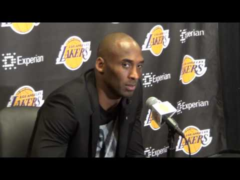 L. A. LAKERS: KOBE BRYANT CHRISTMAS DAY INTERVIEW: GARY G.(IVNEWS)