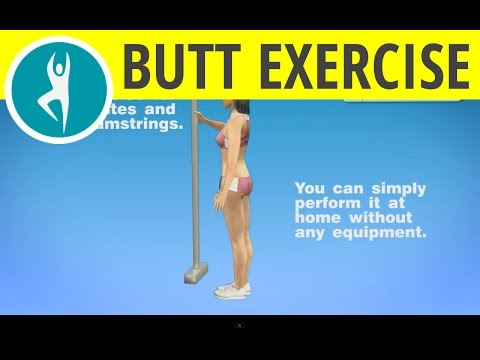 Buttocks Exercise at Home