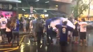 Cruzeirenses comemoram t�tulo nas ruas de BH