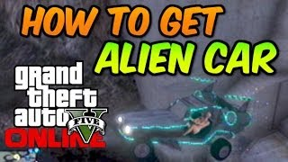 "GTA 5 Online HOW TO GET ALIEN CAR ""Space Docker"" Rare"