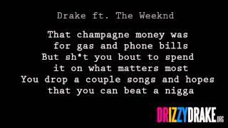 Drake Ft. The Weeknd The Ride Lyrics [VIDEO]
