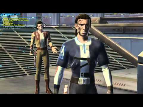 SWTOR: Smuggler Gameplay Day 1 Part 1 - 1 / 9