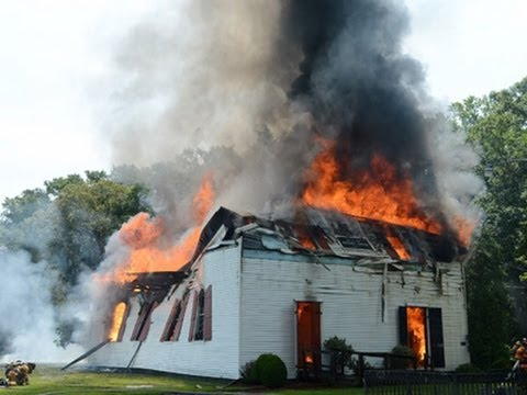 Md. church built in 1773 ravaged by fire