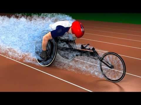 www.totalsimulation.co.uk | TotalSim CFD Simulation of Gold medal winning British parolympian