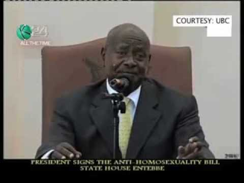 Ugandan President Signs Into Anti-Gay Bill Into Law