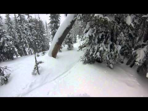 Storm skiing - Jackson Hole -  01/12/2014 & 01/13/2014