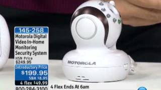 Motorola Digital Video In-Home Monitoring Security System
