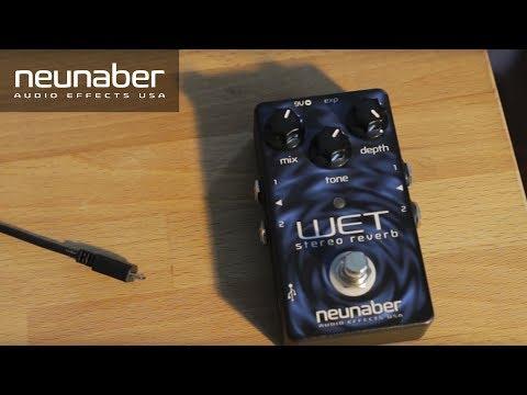 Neunaber Seraphim Shimmer Reverb Stereo Buffered Bypass Expanse Series Pedal