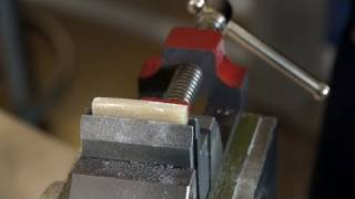Watch the Trade Secrets Video, Nut and Saddle Vise