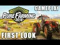 Pure Farming 2018   First Look v1.0