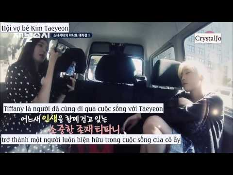 [Vietsub] Taeyeon talk about Tiffany - Channel SNSD Ep 7