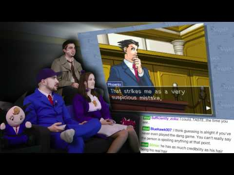 Slippery Sahwit! - Phoenix Wright is AWESOME! - Part 3