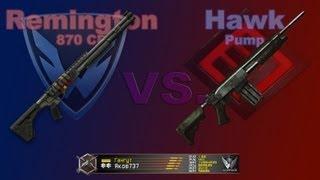 Remington 870 CB и Hawk Pump / Warface / Оружие