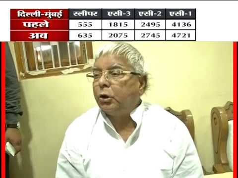 These are the 'achhe din': Lalu Prasad Yadav on rail fare hike