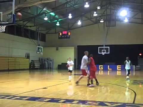 College Level Pivot Seal Drill - Spartan Basketball (San Antonio)