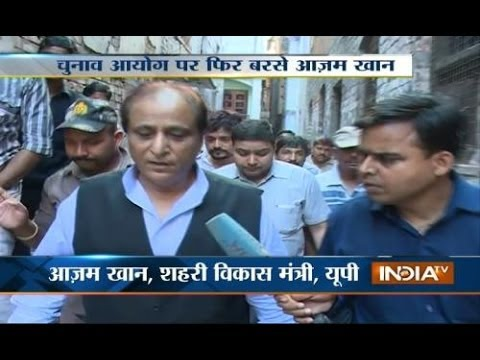 Azam Khan slams EC saying it is helping BJP to fight election