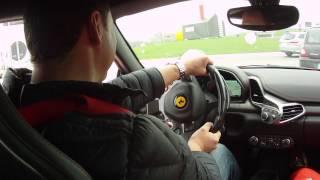 Феррари Ф 458 Италия. Маранелло Тест драйв 2