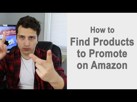 how to research products to promote