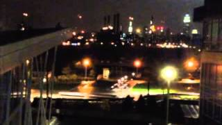 Hurricane Sandy: Explosion at East Village Power Plant, New York